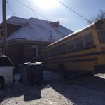 School bus slams into house, throws man from bed. #Mke @tmj4 More details on Live at noon. http://t.co/PM9wljACGZ