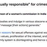 RT @Suparn: Dear BJP this woman rights head said this #Ban