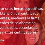 @_susanadiaz pondrá en marcha becas para quienes no puedan obtener el B1 en idiomas en sus estudios #YoConSusana http://t.co/SE6rtll8v7