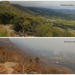 We received these photos from Joanne Boting showing the effects before and after the fire passes: http://t.co/yIZlyi0o9f