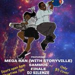 The Rappers With Arm Cannons Tour here in #cny this Sunday @ Singers Solvay NY! @megaran @djsilenze #NES #Syracuse http://t.co/P5i1wYt725