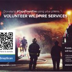 @CityofCT People can donate to @vwsfires using @SnapScanApp. Click here to pay: https://t.co/ol6EbqjZam #CapeTownFire http://t.co/PEWJGAEOkP
