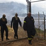 End of a shift. Firefighters up all night. Heroes of the ash. #CapeTownFire #Tokai #Africa http://t.co/S9DY6Ufq4v