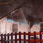 #NEW Eagle home destroyed after fire. Everyone is safe. More coming up on @KTVB. http://t.co/fQsA05zDBd