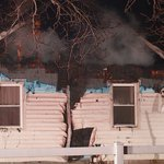 Eagle couple escapes after roof catches fire http://t.co/sl1V5fKZ5k http://t.co/tBELMOHfeg