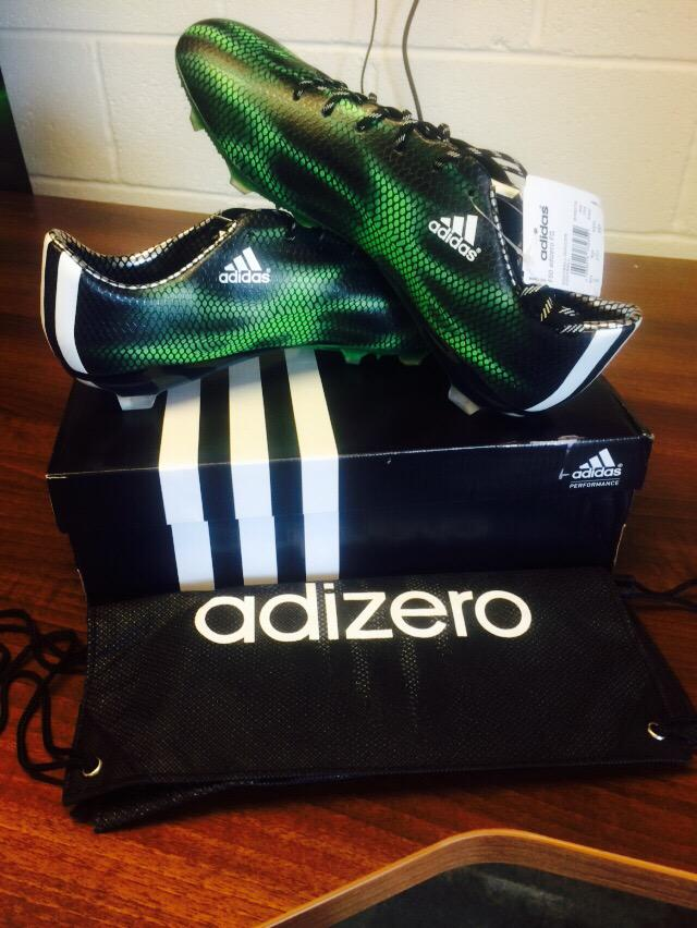Thanks Adidas for today's crackers!! ⚽️ #ViolaFC http://t.co/5jI6wdILuJ