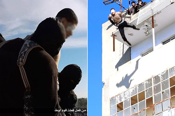 Isis Throw Gay Man Off Building Then Stone Him To Death