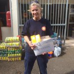 Second delivery of #PhotodermMax sunscreen to firefighters fighting Cape Town #wildfire. Thank You, our heroes! http://t.co/Qj8VB97GrJ