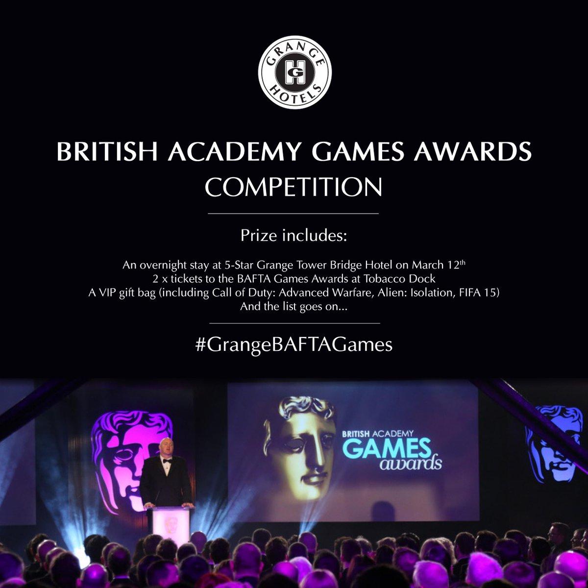 BAFTA Games Competition! RT & Follow for a chance to WIN BIG #GrangeBAFTAGames #ProudPartner  http://t.co/uXM6E8vLMX http://t.co/jQLuQBpoBw