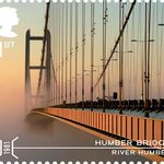 Stamp of approval: Humber Bridge to feature on @RoyalMailNews 1st Class postage. #Hull #Grimsby http://t.co/4xCCXgYnp3