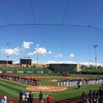 Ready to begin Cactus League play. #DbacksSpring http://t.co/Q6zGDIwpKl