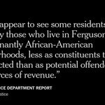 Key findings in the DOJ report on the #Ferguson Police Dept. Full story to come. http://t.co/aooN0wAWsY