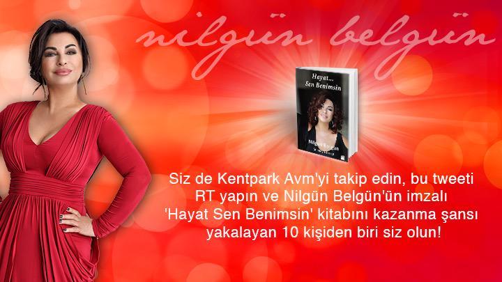 @KENTPARKAVM_'yi takip edip, bu tweeti RT yapan şanslı 10 kişi Nilgün Belgün imzalı kitabını kazanıyor! @nildaybelday http://t.co/iQ0QtsQytf