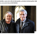 #Montpellier - M. Saurel, la culture ne se résume pas à Gerard Depardieu, signez lappel ! => http://t.co/fBbam7Db8s http://t.co/se4SHoTALy