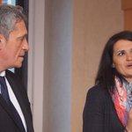 .@saurel2014 présente à la presse @KatiaVidic présidente du Conseil de Développement de la #Métropole #montpellier http://t.co/EQkupHXG6R