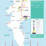 The 2015 Cape Town Cycle Tour Route @CTCycleTour http://t.co/jNS07lLZG7