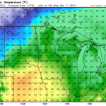 SPRING SOON: The warmest so far this year next week in southern Minnesota... 50 degrees likely! #HEATWAVE http://t.co/Of9tQt0huw