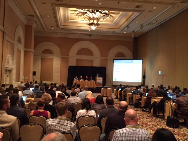It's a full house for the panel workshop on #Mobile #LeadGen with @ronburr at @leadscon Vegas! Come check it out! http://t.co/MJJHpDa5ol