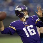 THIS JUST IN: Vikings agree to trade QB Matt Cassel to Bills. http://t.co/3kzroc95s8