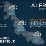 Ingresará Frente Frío 41 a #Veracruz, este jueves; se mantiene la #AlertaGris: @spcver http://t.co/zoagOjkwwF http://t.co/H5B7913Vc7