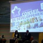 Une startupeuse de la #FrenchTech  #montpellier, Pdte du conseil de développement 3M.Un symbole fort !  @KatiaVidic http://t.co/b2yRR6UIP1