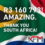 We have wrapped up the #FireRadiothon - today the people of the Cape have done something truly amazing! http://t.co/66xoQ3zpYm
