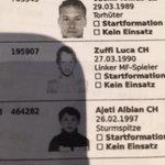 Hmm, @LucaZuffi und Albian Ajeti waren länger nicht mehr beim Fotografen. #rotblaulive #FCBasel http://t.co/XUzztEWgVK