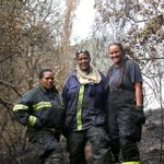Fiery women braver than me. Firefighters in the #CapeFire Nomalady Koki Deliah De Beer & Shimone Cronje. THANK YOU! http://t.co/kw1UMvimmx