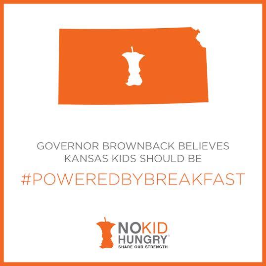 Thank you, @govsambrownback for declaring March 2-6 as School Breakfast week! http://t.co/4G1nYhAwkI #NSBW #TeamNKH http://t.co/9tH7Nzg1MR