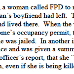 Woman calls #Ferguson police on boyfriend, gets arrested for an occupancy violation. http://t.co/VVfW0J8Bq3