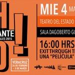 Hoy en #Ambulante2015 conoce la historia secreta del arte callejero y la obsesión de un cineasta amateur. #Xalapa http://t.co/MpMq277yrx
