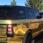 Royals SS Alcides Escobar doesnt have a gold glove, but he does have a gold SUV. (via @swanee54) http://t.co/VvhV6ZcFTb