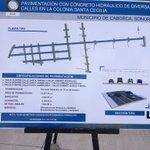 Inversión de 18 mdp en la col Santa Cecilia para pavimentación en #Caborca por @guillermopadres http://t.co/Vju5N0KF7c