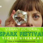 Act quick to win @BelfryTheatre SparkFest tix! Draw @ midnight. Enter at http://t.co/m6TBFBEjsz #yyj #yyjarts http://t.co/99q2ZqeRi4