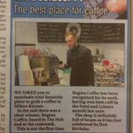 Excellent news for @BogotaCoffeeCo in @YourMKWeb http://t.co/xIpqTYJT0s