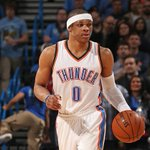 Russell Westbrook is back, rocking a clear mask and a white headband for his new look. http://t.co/r9Md5IrnCU