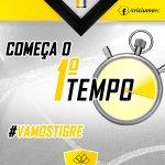 #IBIxCRI - 0x0 - 0/1T - Começa o jogo em Ibirama. #VamosTigre #CriciumaEC http://t.co/kE1tZplIr2