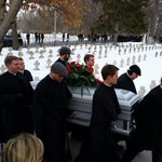 Burial ceremony begins for Father Hesburgh http://t.co/lmiweL2xUl