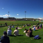 Wednesday afternoons at @PeoriaSportsCom are the best. #MarinersST http://t.co/y17Kuq4uto