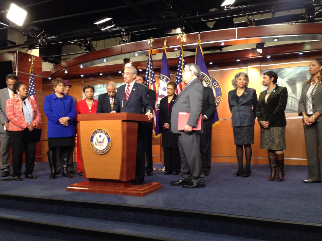 Spoke at a press conf on the @TheJusticeDept report on Ferguson MO Police Dept. Read it here: