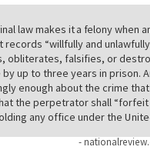 Why Hillary is a felon. http://t.co/ti7PJDSfcK http://t.co/6kuhZDUpkz