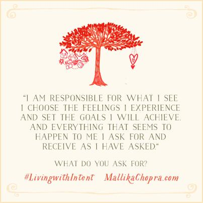 What do you ask for? Mallika Chopra shares what she wants in living with #intent: http://t.co/sCYJSez9XV http://t.co/3SH42mXENm
