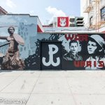 Mural na Greenpoincie. The Warsaw Uprising Memorial, Brooklyn, NY by Rafal Pisarczyk http://t.co/9nh1ovWarn