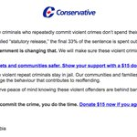 1% offend while on day parole or full parole. Send $15 to help us ruin lives needlessly.... #cdnpoli http://t.co/tvHcSzHCs1