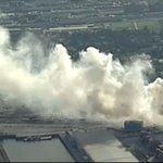 Smoke from fire at Port Metro Vancouver spreading across city. http://t.co/h6mIgor2QZ