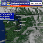 Could get just a few sprinkles (and possibly a light shower) north of #Seattle Thu. The weekend: on KIRO 7 at 5:30! http://t.co/8L7DQ9JzVS