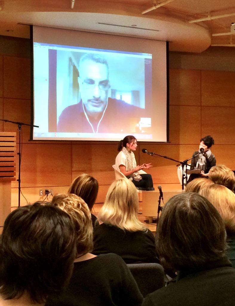 #canadareads @MsKristinKreuk talks about @KamalAlSolaylee's memoir Intolerable  http://t.co/sgfBQ65A38 @cbcbooks http://t.co/vY4HHYz1RH