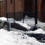 Warmer weather sends snow and ice crashing into cars in Boston http://t.co/0EoLspHHBZ #bosnow http://t.co/ThGckh13wY