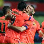 """Tw Suarez: """"Lets gooooooo, to the final!!! How nice, come on!!!"""" [@luissuarez9] http://t.co/XLF0wrsRkn"""