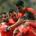 Juntos hacia la final! Objetivo cumplido, Força Barça!!! http://t.co/H808CYnefl